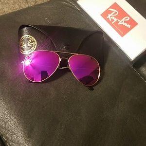 Purple Ray Ban
